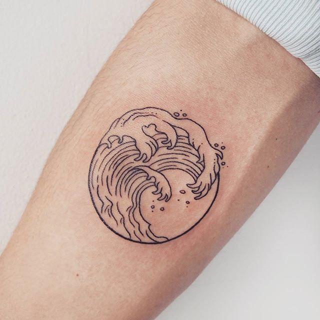 circle tattoos photo - 45