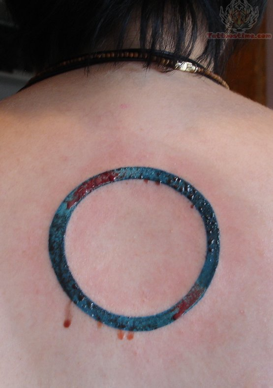 circle tattoos photo - 7