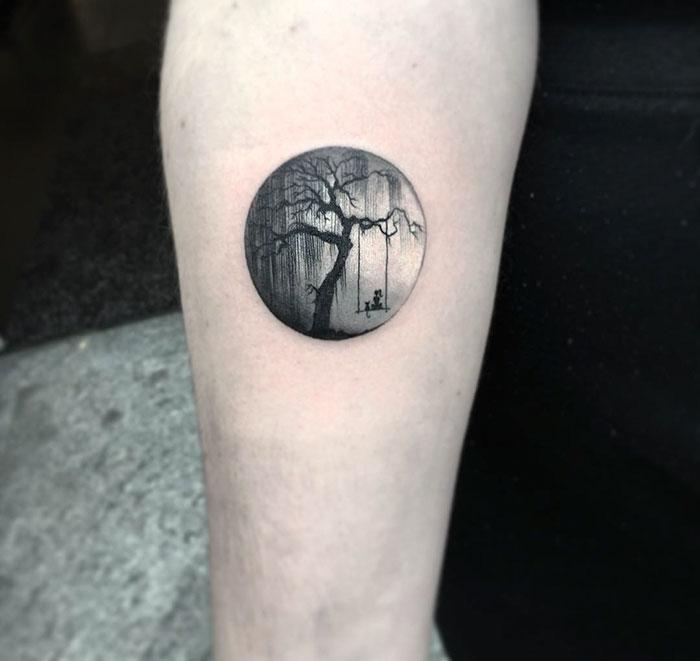 circle tattoos photo - 9