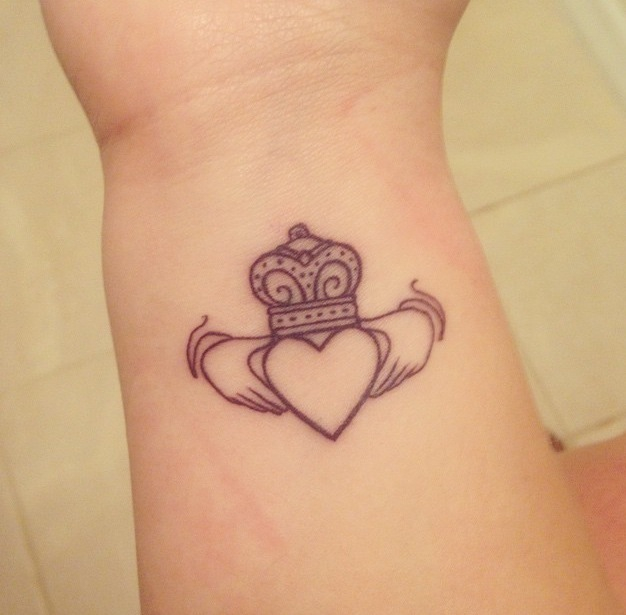 claddagh tattoos photo - 15