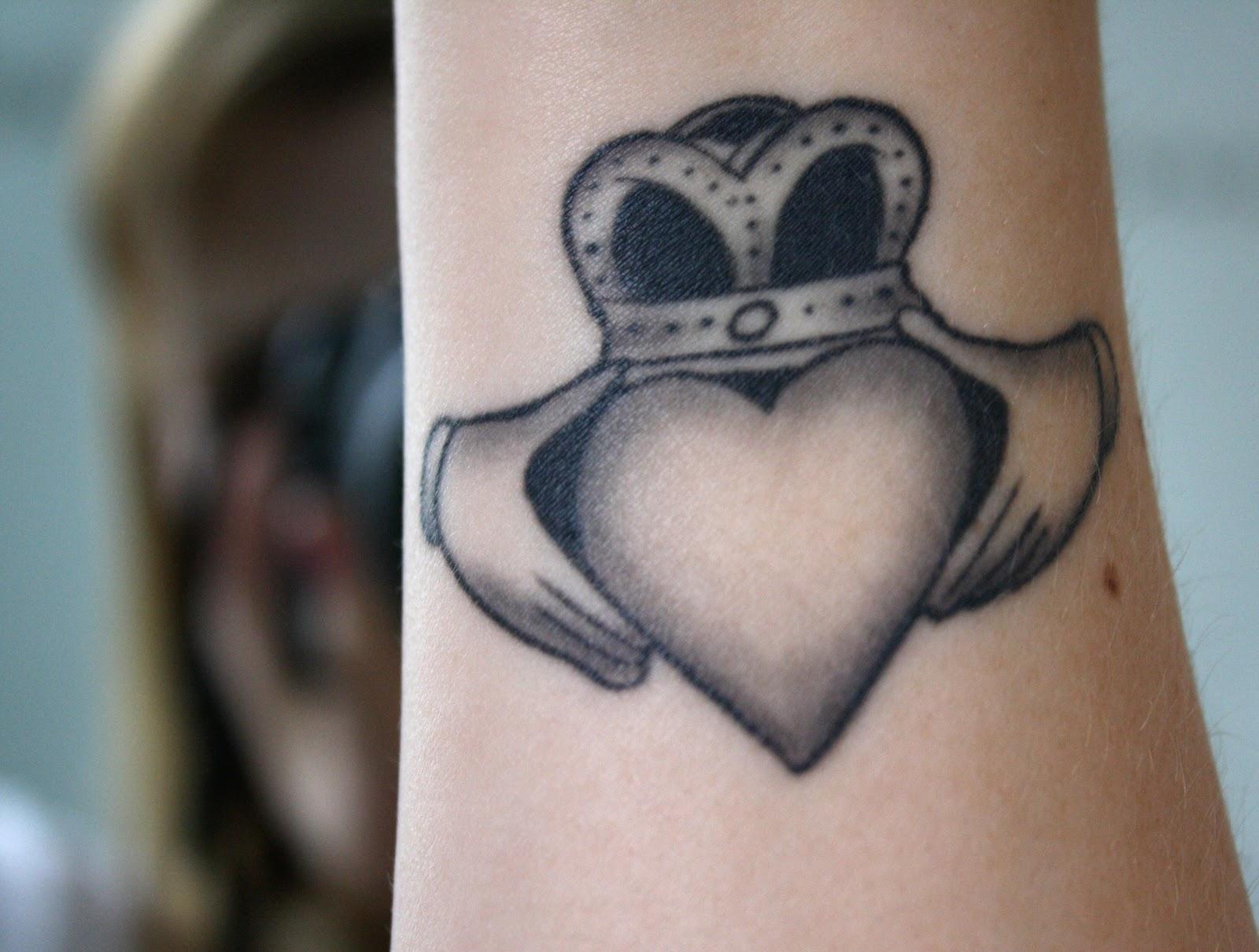 claddagh tattoos photo - 16