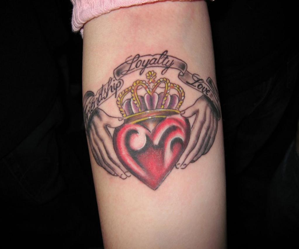 claddagh tattoos photo - 26