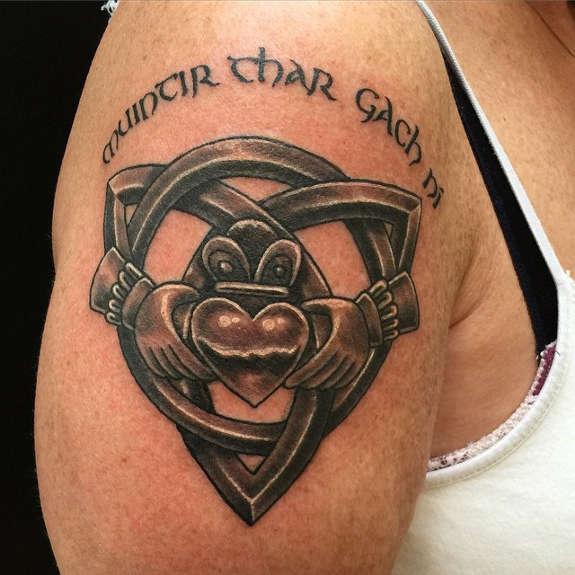 claddagh tattoos photo - 38