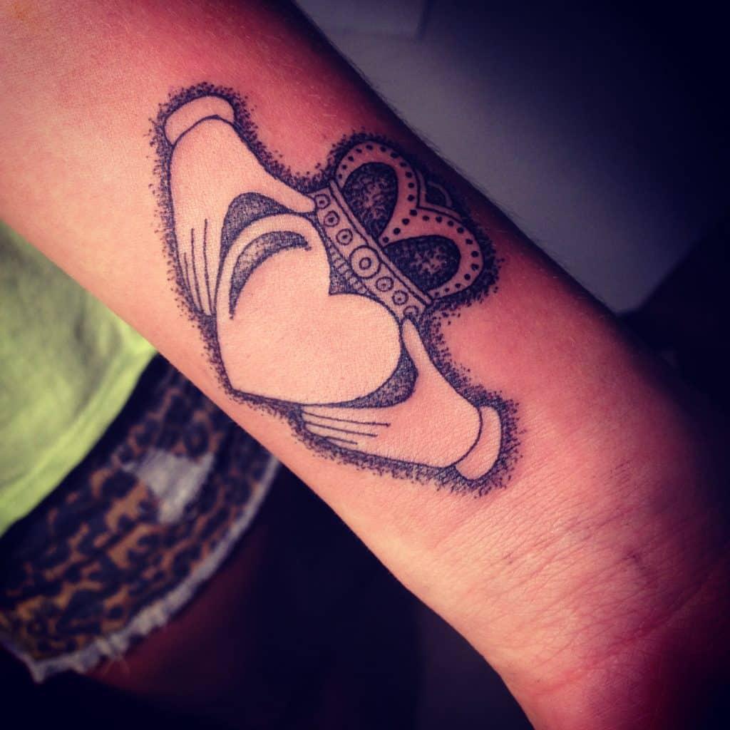 claddagh tattoos photo - 5