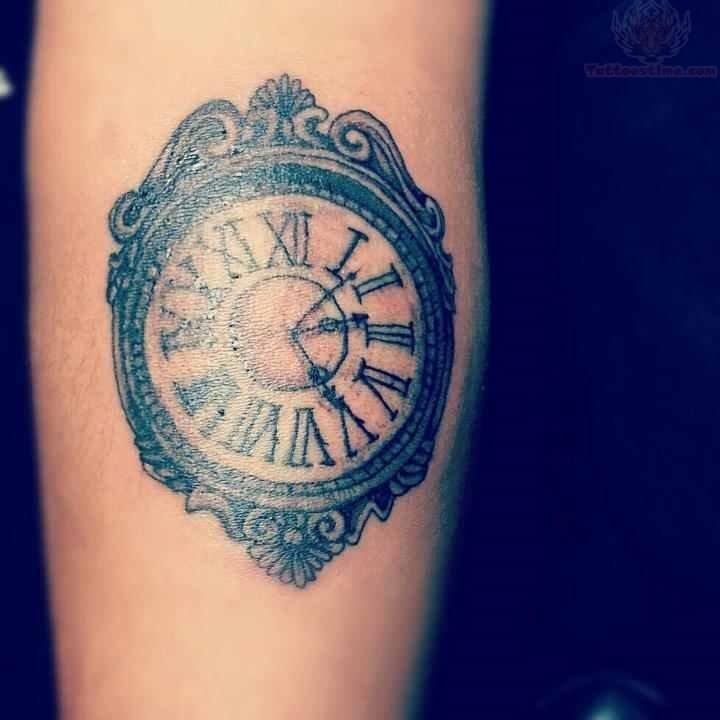 clock tattoos photo - 10