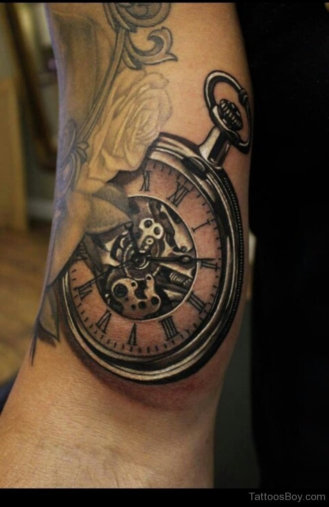 clock tattoos photo - 15