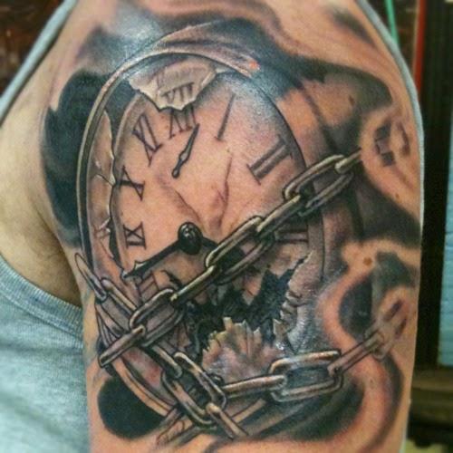 clock tattoos photo - 16