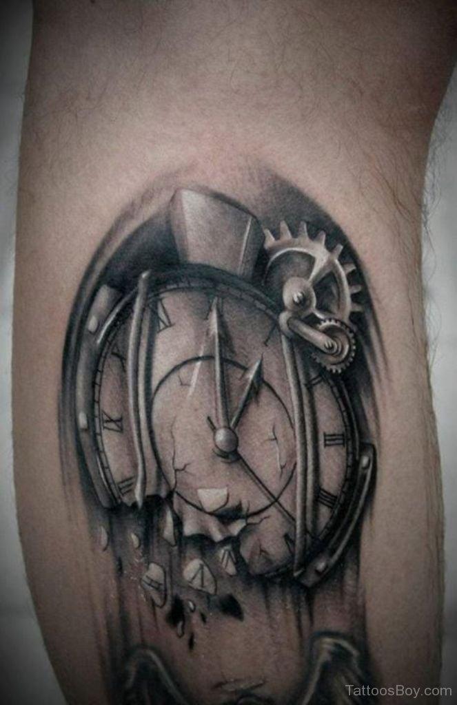 clock tattoos photo - 18