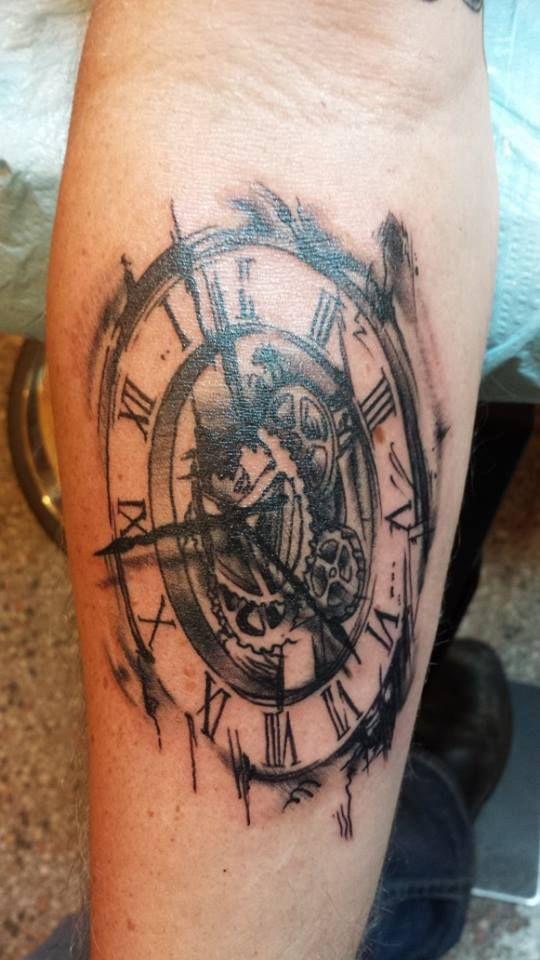 clock tattoos photo - 20