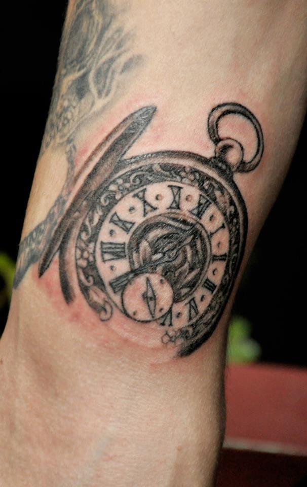 clock tattoos photo - 22