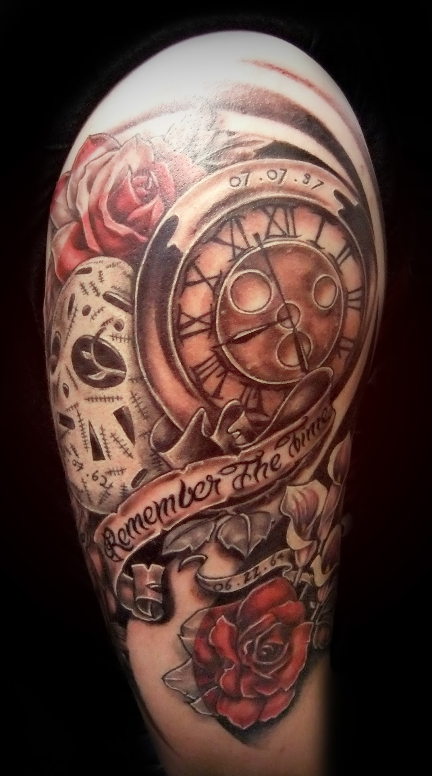 clock tattoos photo - 5
