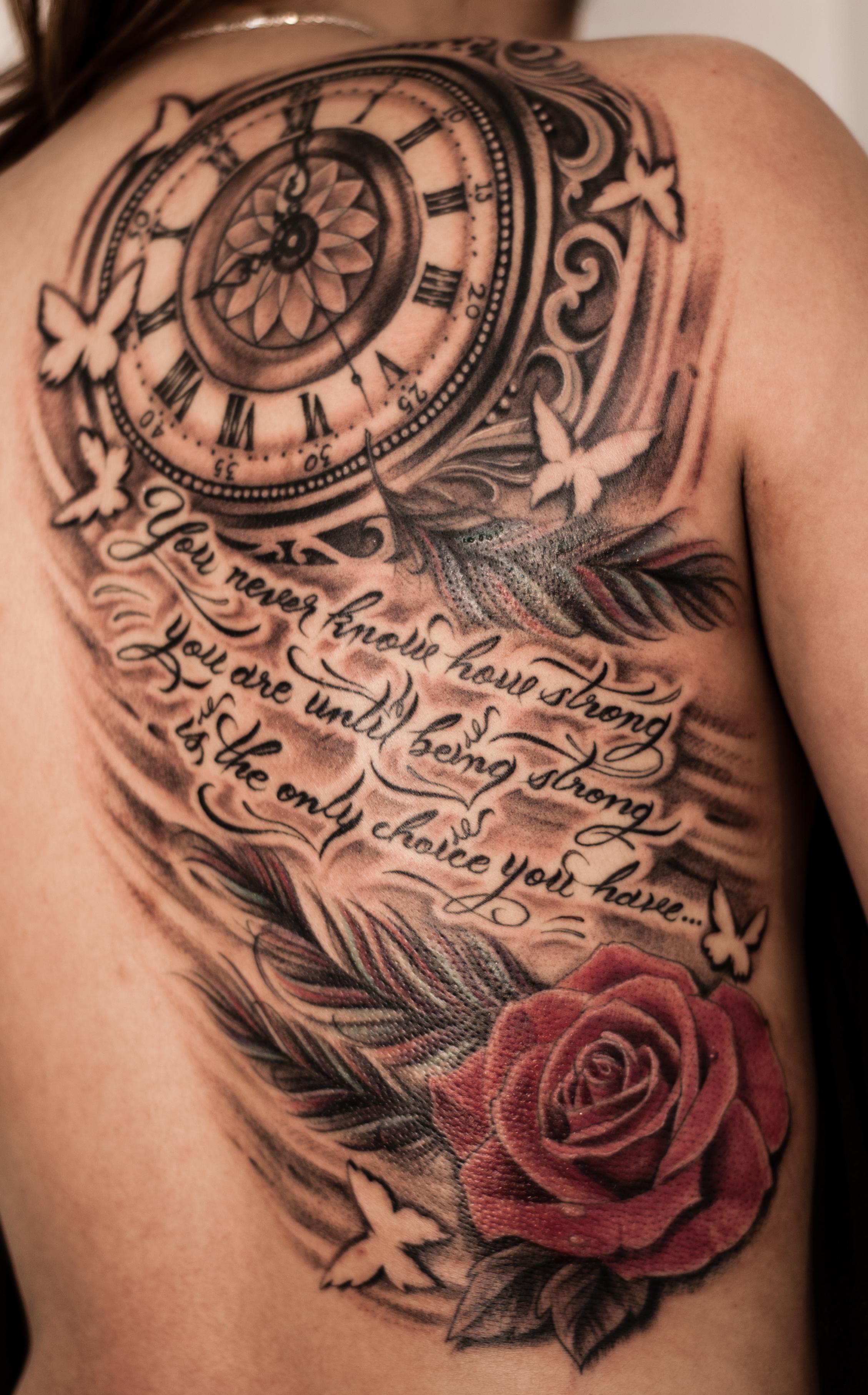 clock tattoos photo - 6