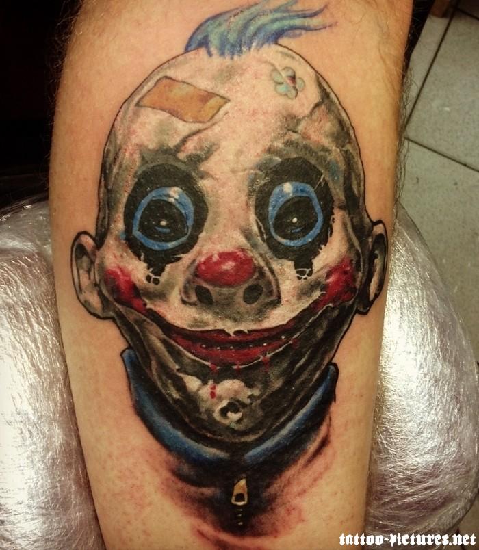 clown tattoos photo - 11