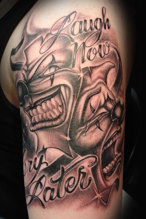 clown tattoos photo - 12
