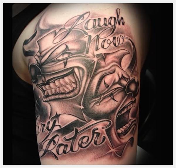 clown tattoos photo - 16