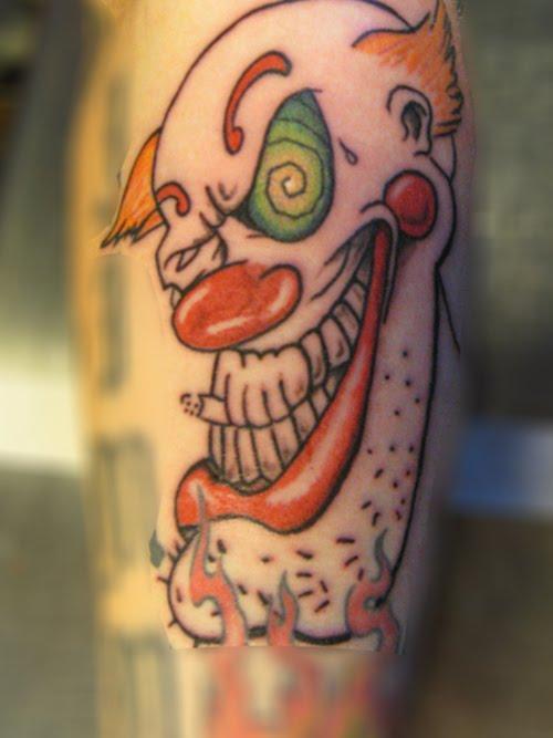 clown tattoos photo - 20