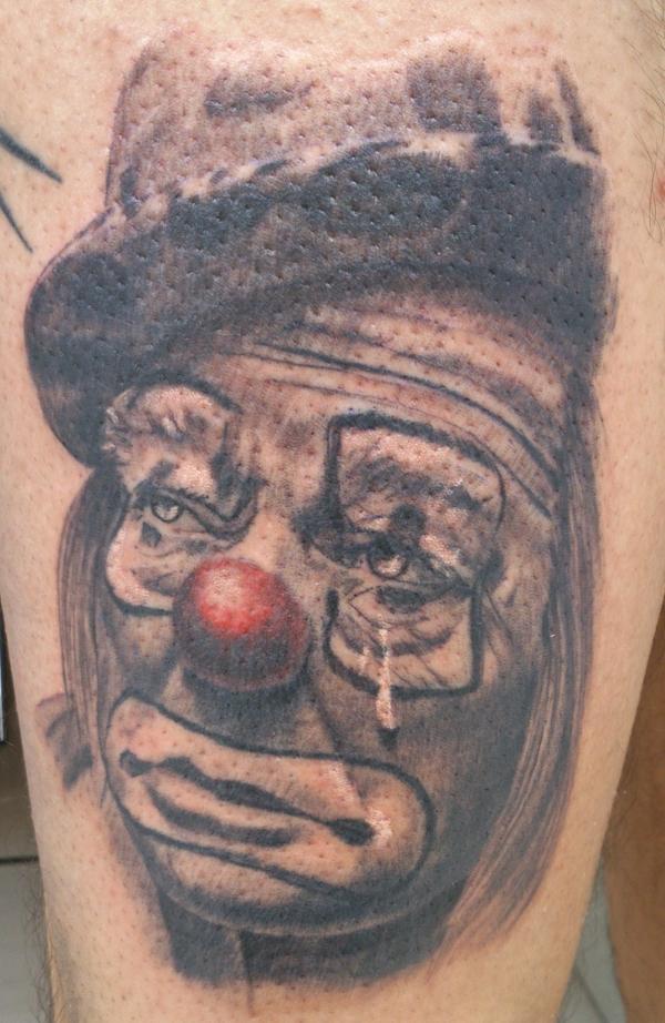 clown tattoos photo - 25