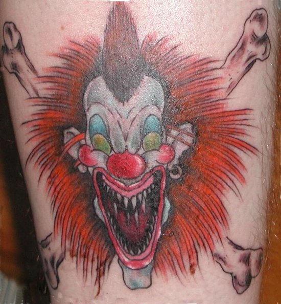 clown tattoos photo - 27