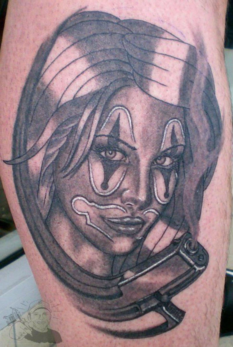 clown tattoos photo - 29