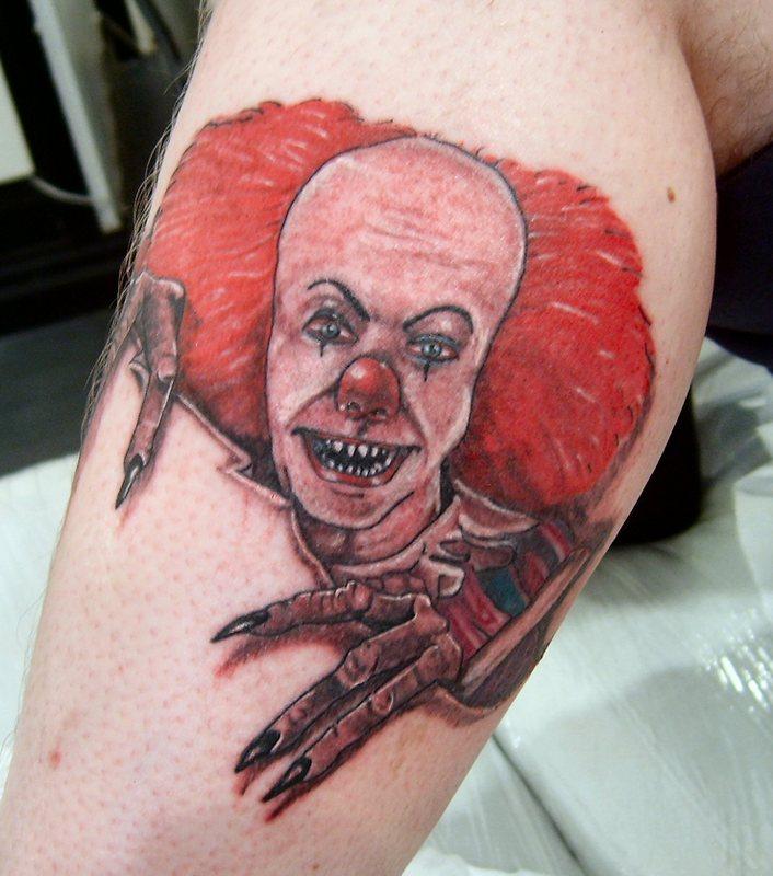 clown tattoos photo - 31