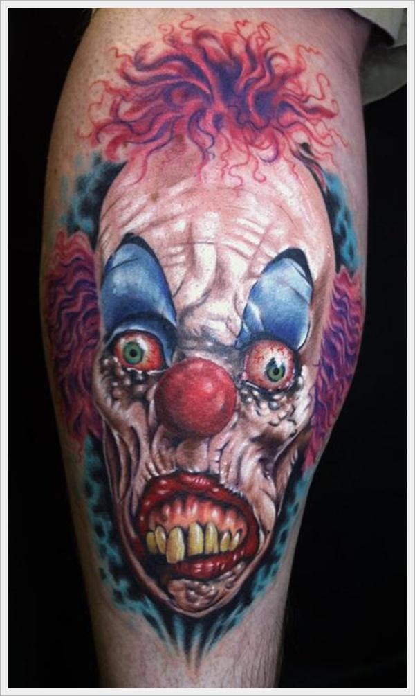 clown tattoos photo - 32