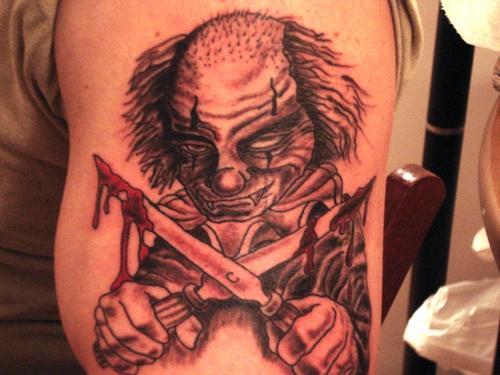 clown tattoos photo - 33