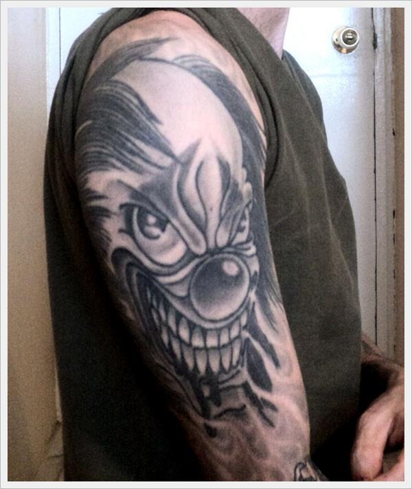 clown tattoos photo - 34