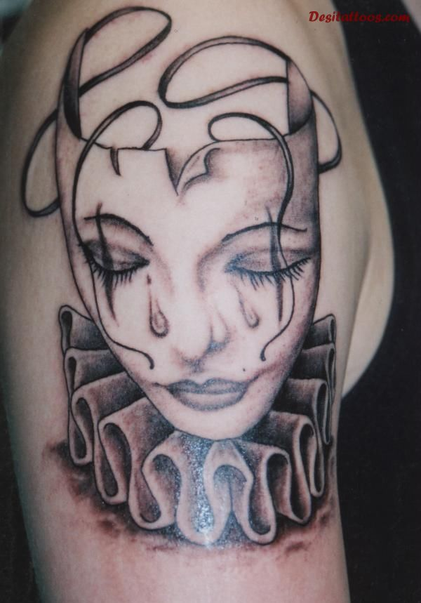 clown tattoos photo - 4