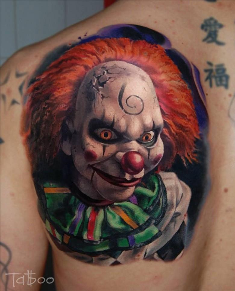 clown tattoos photo - 6