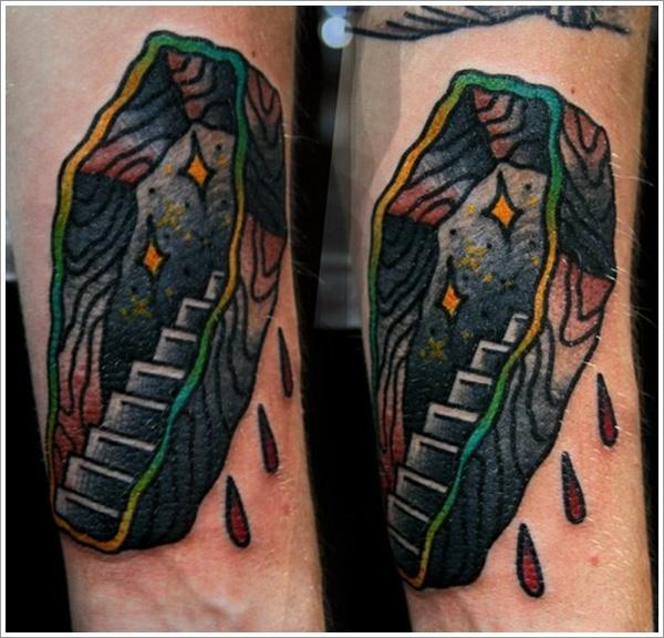 coffin tattoos photo - 1