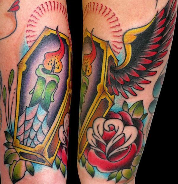 coffin tattoos photo - 10