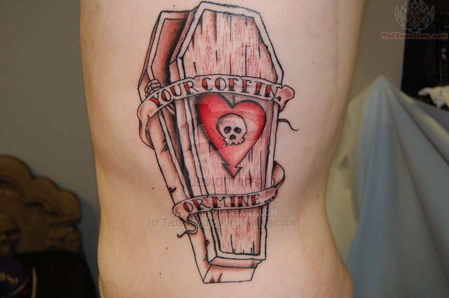coffin tattoos photo - 15