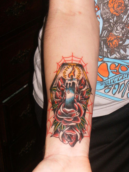 coffin tattoos photo - 16