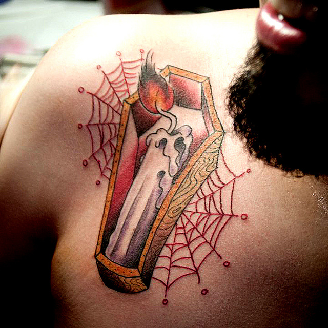 coffin tattoos photo - 17