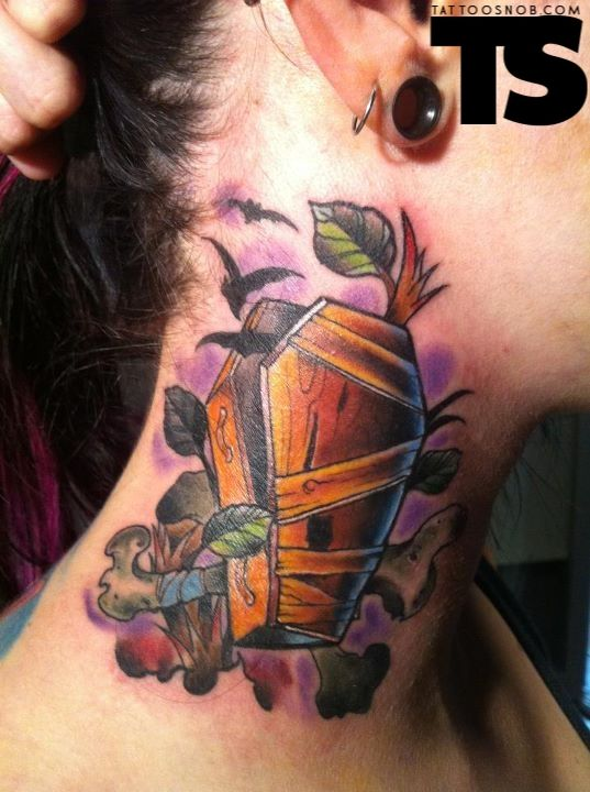 coffin tattoos photo - 20