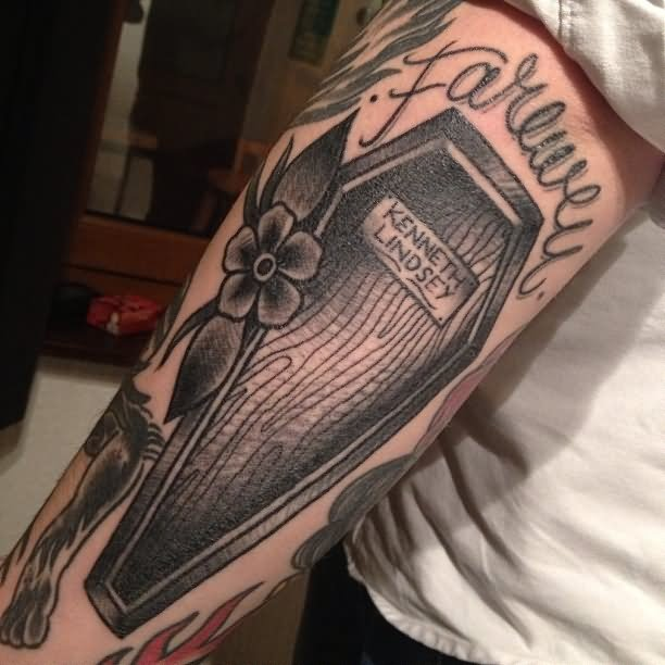 coffin tattoos photo - 29