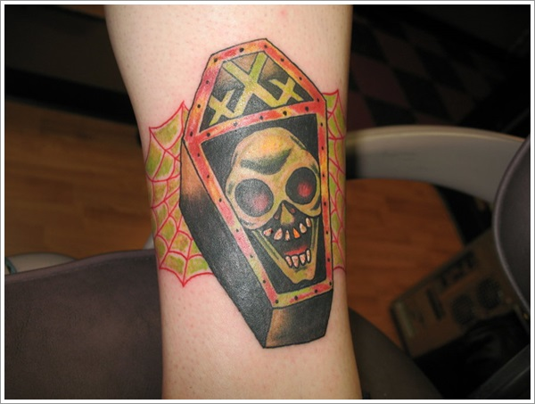 coffin tattoos photo - 32