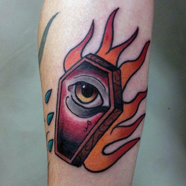 coffin tattoos photo - 33