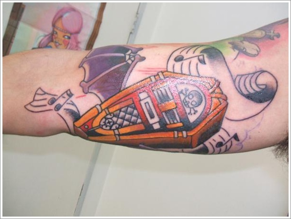 coffin tattoos photo - 5