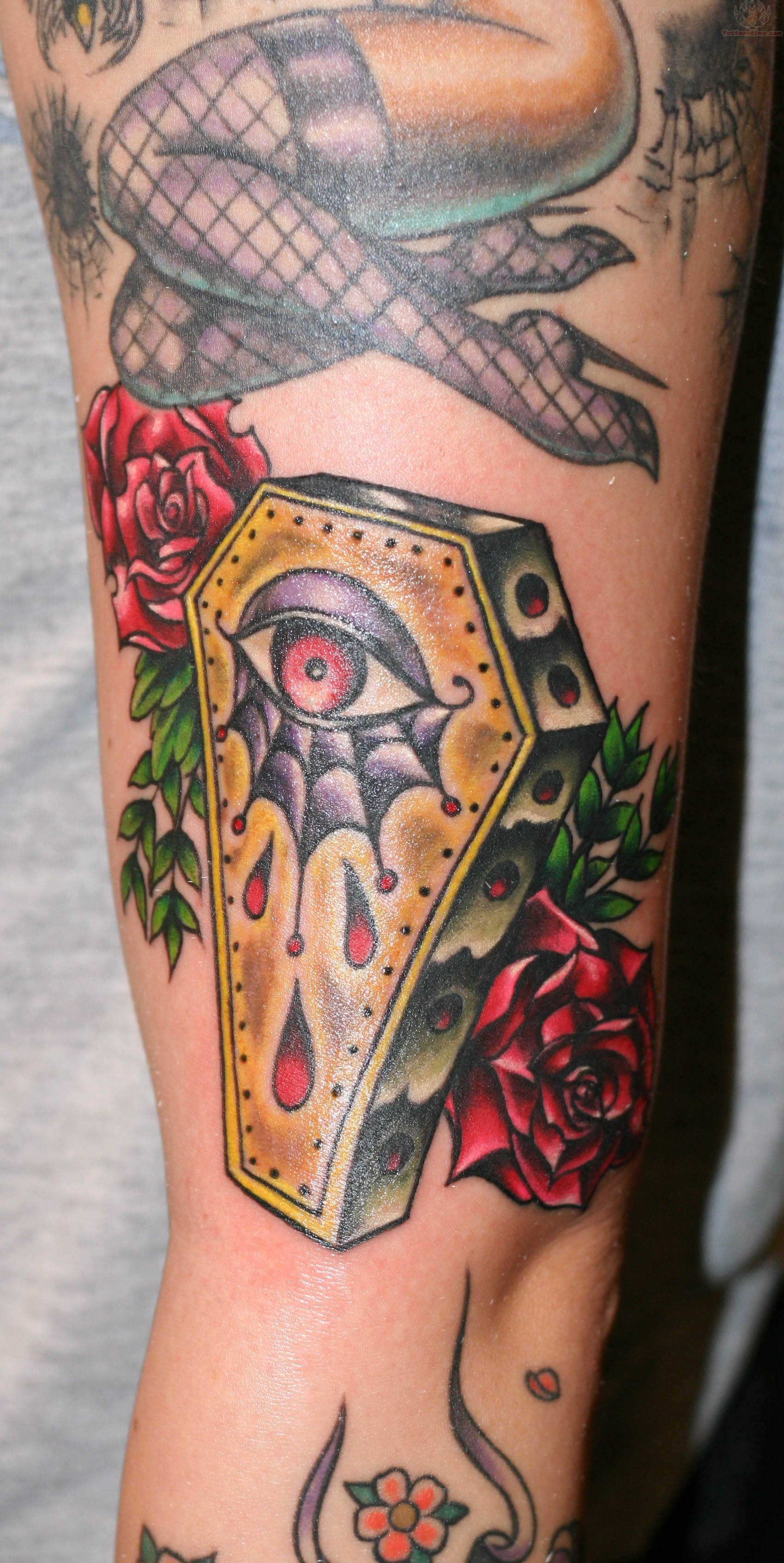 coffin tattoos photo - 7