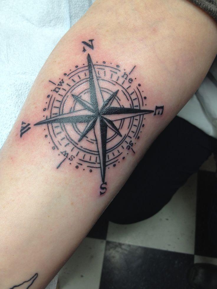 compass tattoos photo - 11