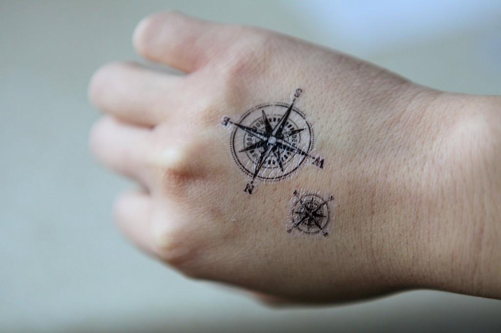 compass tattoos photo - 15