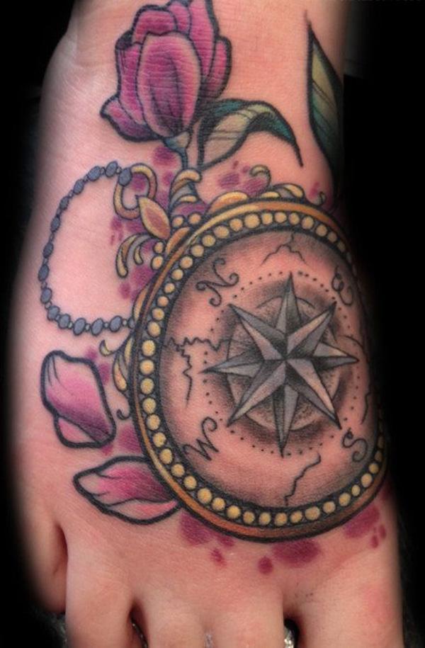 compass tattoos photo - 19