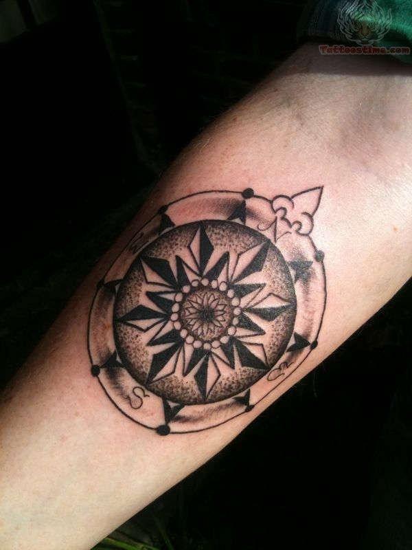 compass tattoos photo - 39