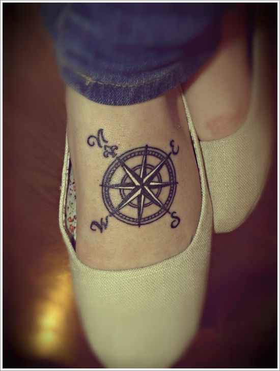 compass tattoos photo - 6