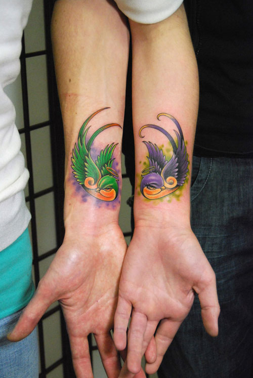 couple tattoos photo - 21