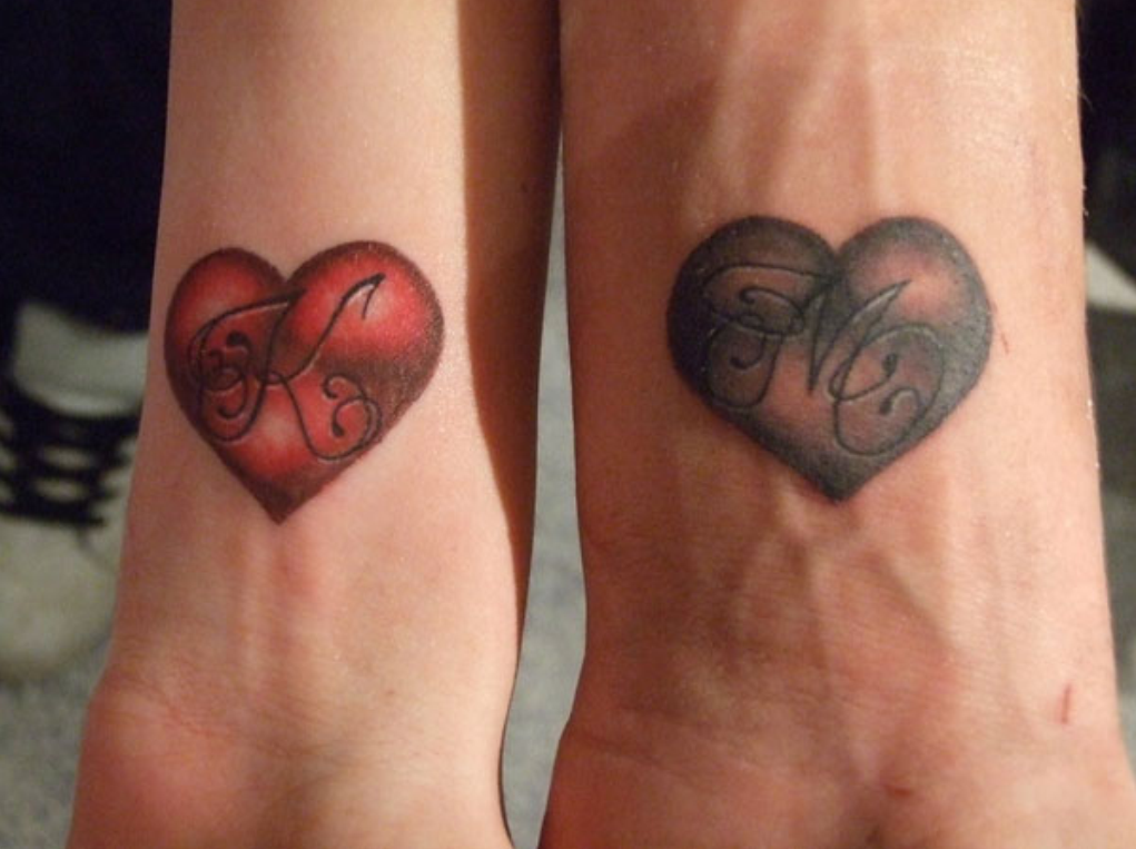 couple tattoos photo - 23