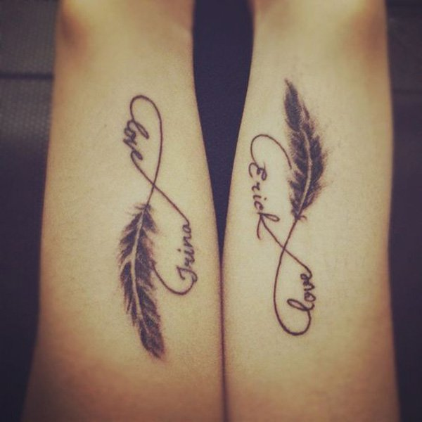 couple tattoos photo - 28