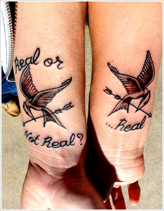 couple tattoos photo - 32