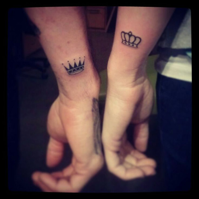 couple tattoos photo - 7
